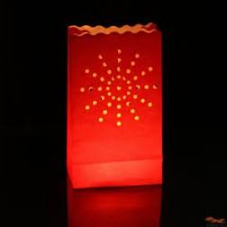 LightBAG Diseño Fuegos artificiales Rojos